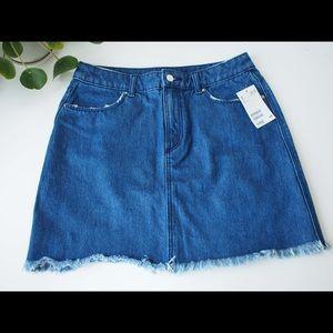 New! 70% off! HM denim skirt, US6